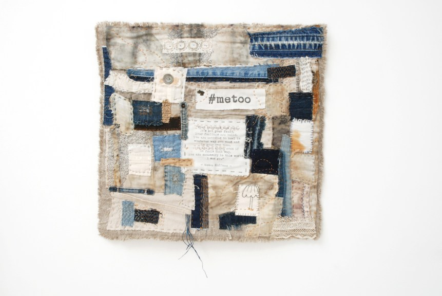 Eva Camacho-Sanchez, #metoo, 2018. Excellence in Fibers IV