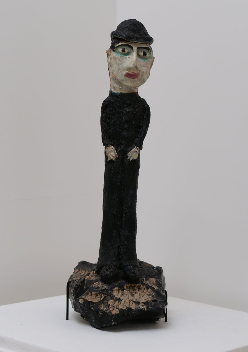 Beatrice Wood, Figure, 1970s. Glazed ceramic, California Visionaries: Seminal Studio Craft, Featuring Works from the Forrest L. Merrill Collection