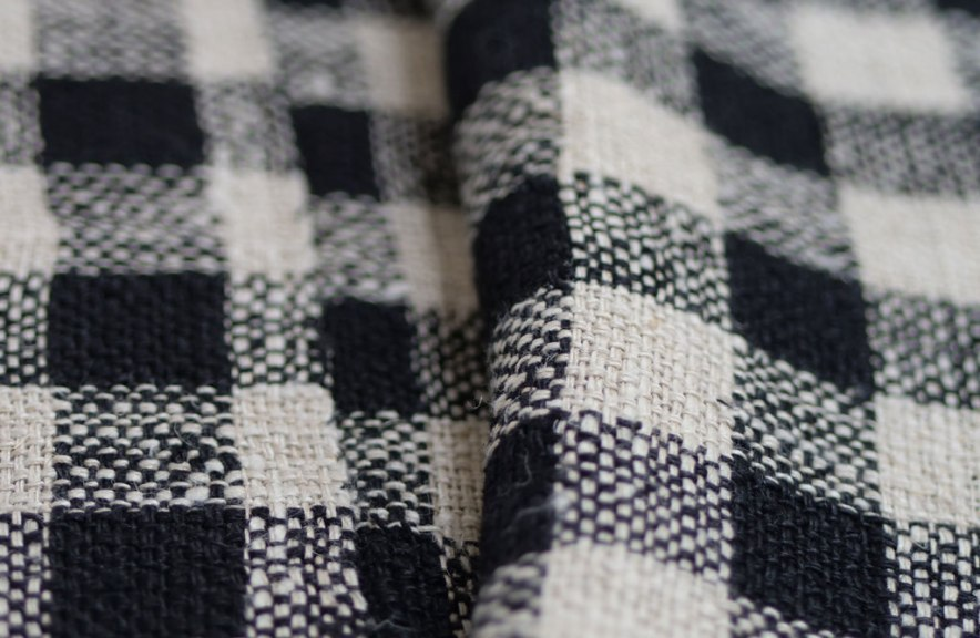 Kay Sekimachi, Early Black & White Checkered Weaving Fiber, California Visionaries: Seminal Studio Craft, Featuring Works from the Forrest L. Merrill Collection