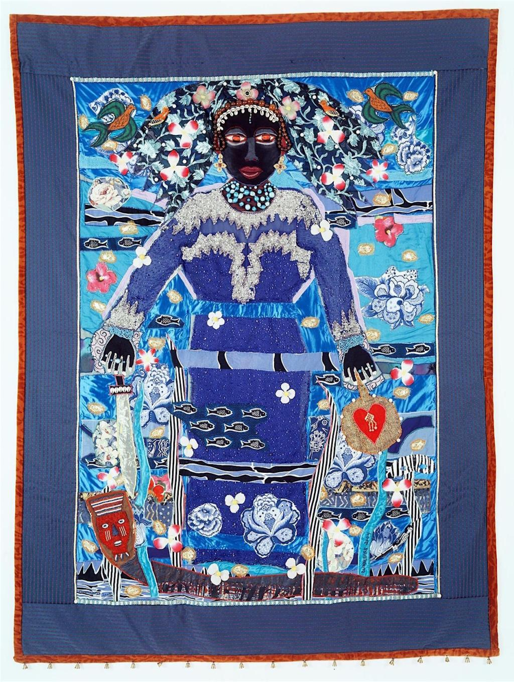 Michael A. Cummings, Brazilian Love Goddess Yemaya, 2004, Quilts episode, Craft in America