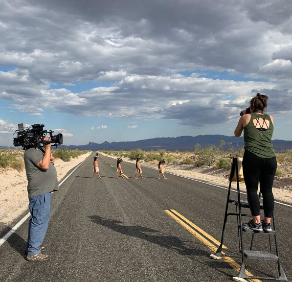 Cara Romero, 17 Mile Road behind the scene, 2019, Photographer, Identity