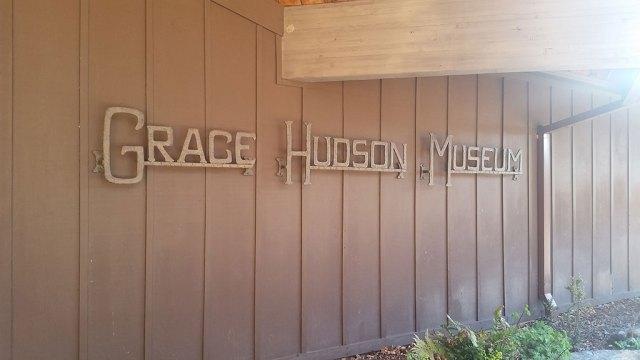 Grace Hudson Museum, signage, Craft in America