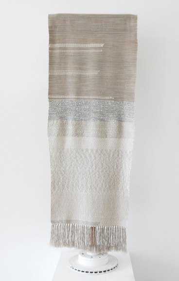 Rachel Snack, Untitled, hand woven textile for the body, 2019