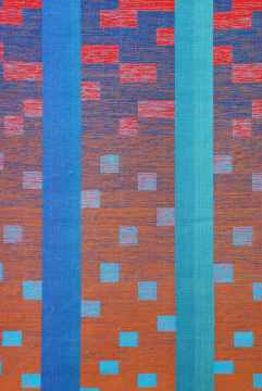 Lois Bryant, The Only Constant is Change (detail). Material Meaning: A Living Legacy of Anni Albers, Craft in America