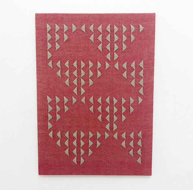Susie Taylor, Untitled (Red Primary), 2017, Material Meaning: A Living Legacy of Anni Albers, Craft in America