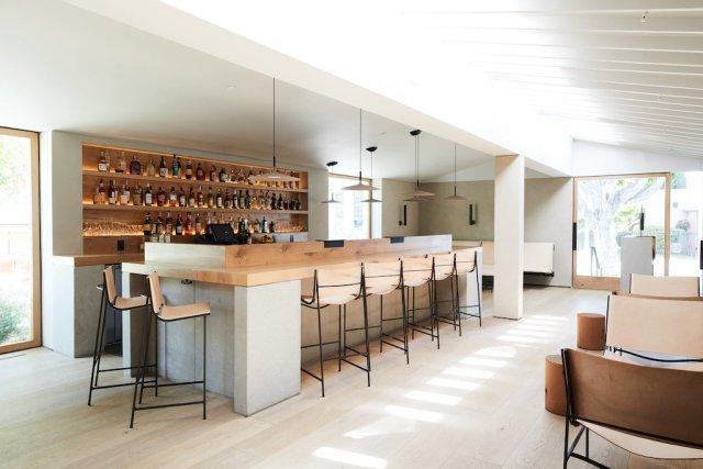 Consume: Handcrafting L.A. Restaurant Design, auburn restaurant interior bar, Craft in America