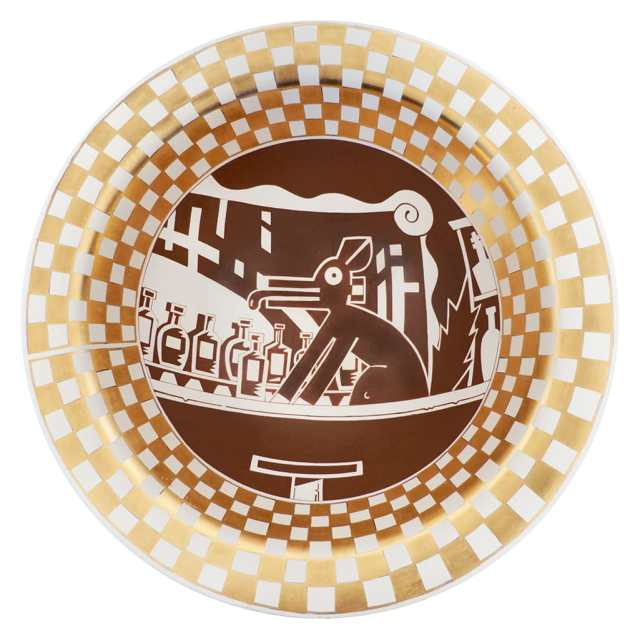 Diego Romero, Cochiti Coyote Pottery Bowl, IDENTITY, Craft in America