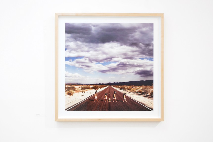 Cara Romero, 17 Mile Road, 2019, Archival pigment prints, Legacy platine