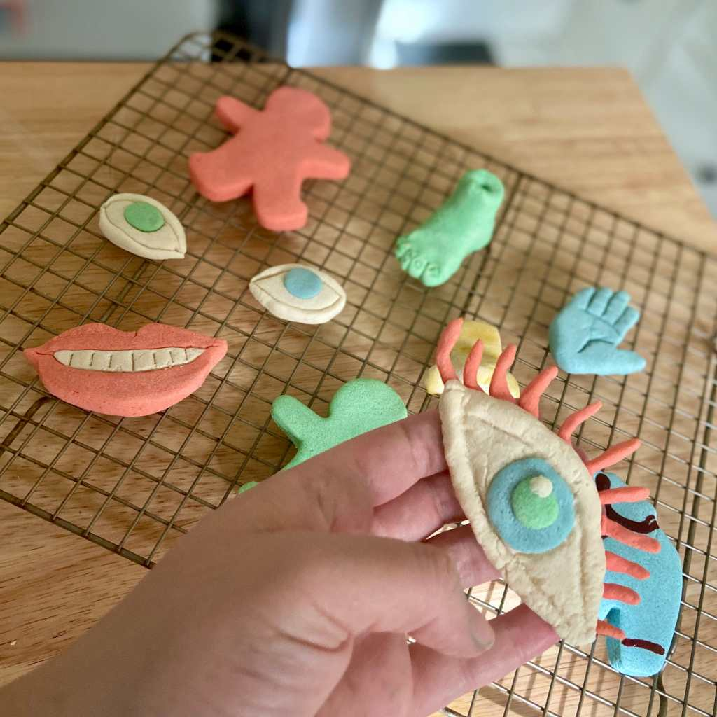 DIY Clay Sculptures, Allow the sculptures to cool completely, then decorate as you wish.Craft in America
