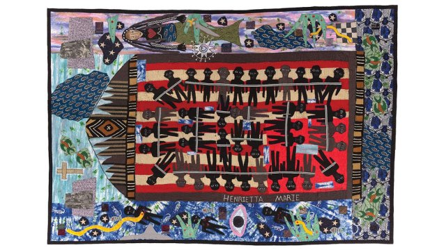 Michael A. Cummings, Slave Ship Henriette Marie, quilts, Craft in America