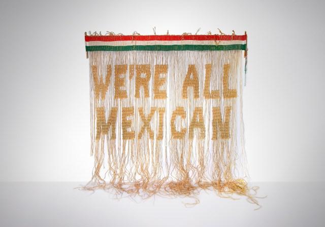 Victor De La Rosa, We're All Mexican, 2020 Craft in America Center Democracy