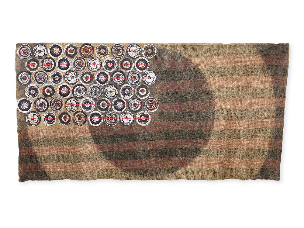 Deborah Nehmad, Old Glory?, 2017 Craft in america Center Democracy 2020: Craft & the Election
