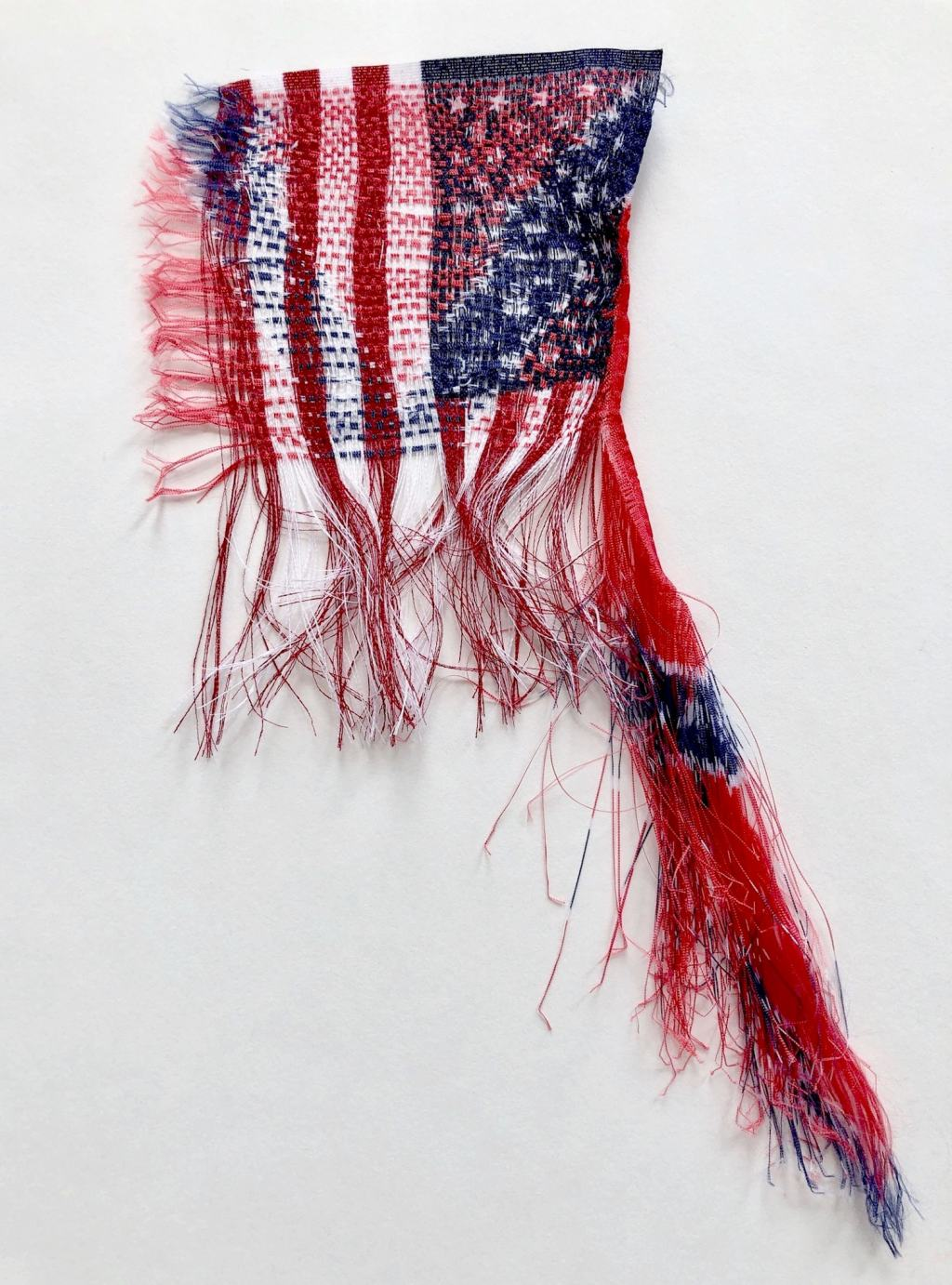 Sonya Clark, these days this history this country, 2019 Craft in America Center Democracy