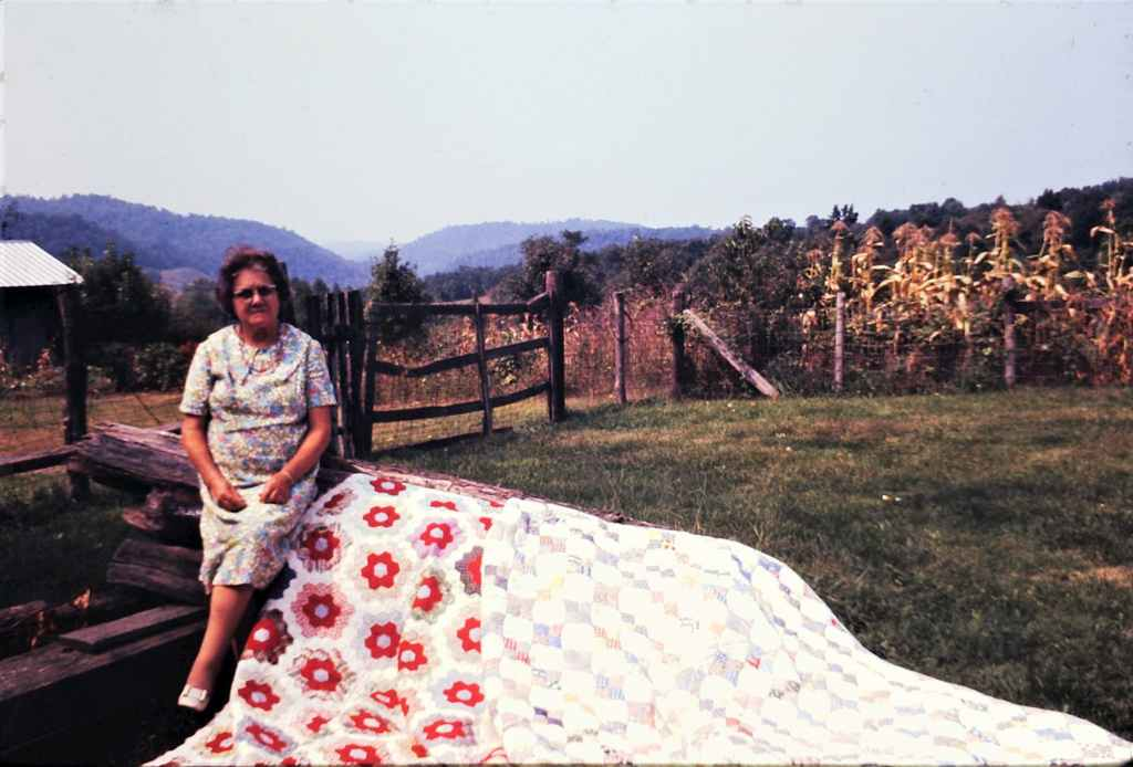 Islands in the Land Exhibition, Appalachia, West Virginia, Greenville, Mrs. Lillie Miller