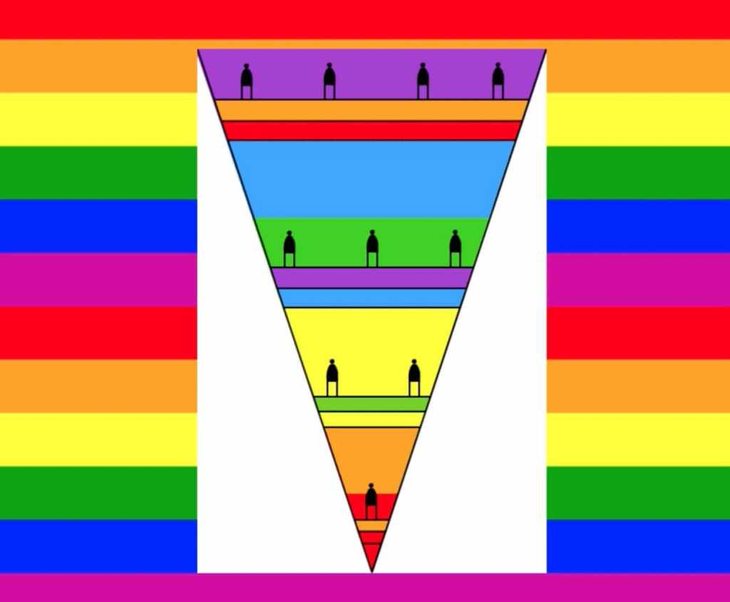 Craft in America Center Flag Share 2020 Beyond Jody Zellen, Equal Rights for All, 2020