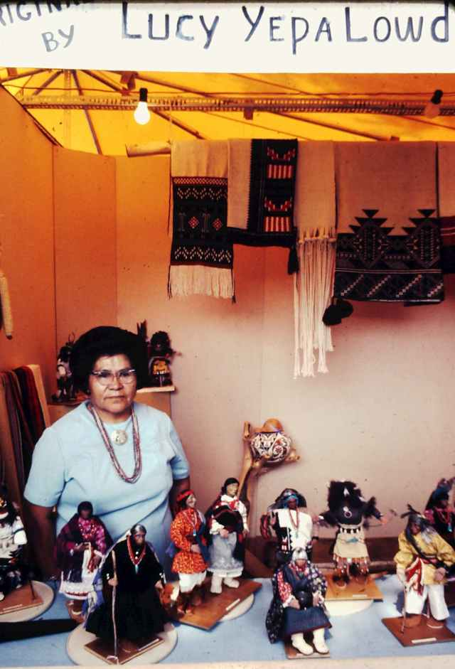 Islands in the Land Exhibition, The Rio Grande, Jemez, Lucy Yepe Lowden