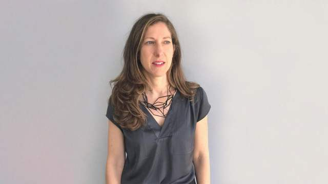 Emily Zaiden, director and curator of the Craft in America Center - feature