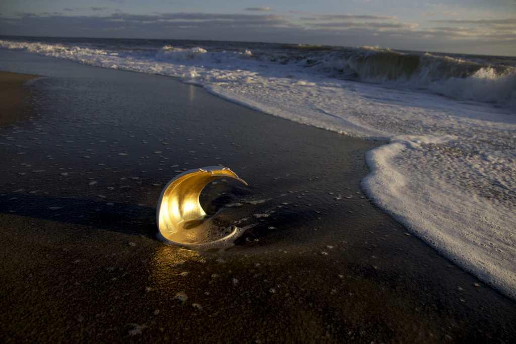 Wing Vessel on Beach, Craft in America