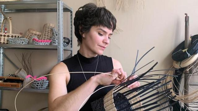 Sarita Westrup sculptor and weaver, Craft in America