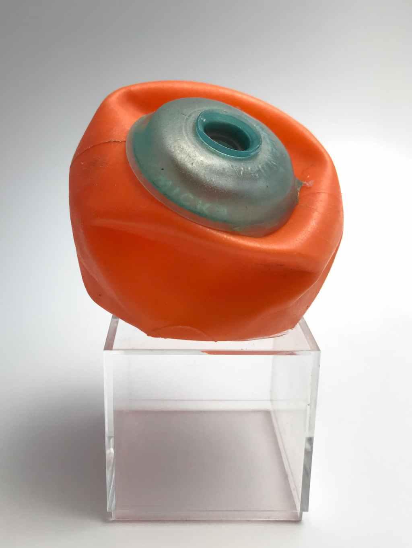 Tibbie Dunbar, Untitled (Orange Blue), Craft in America,
