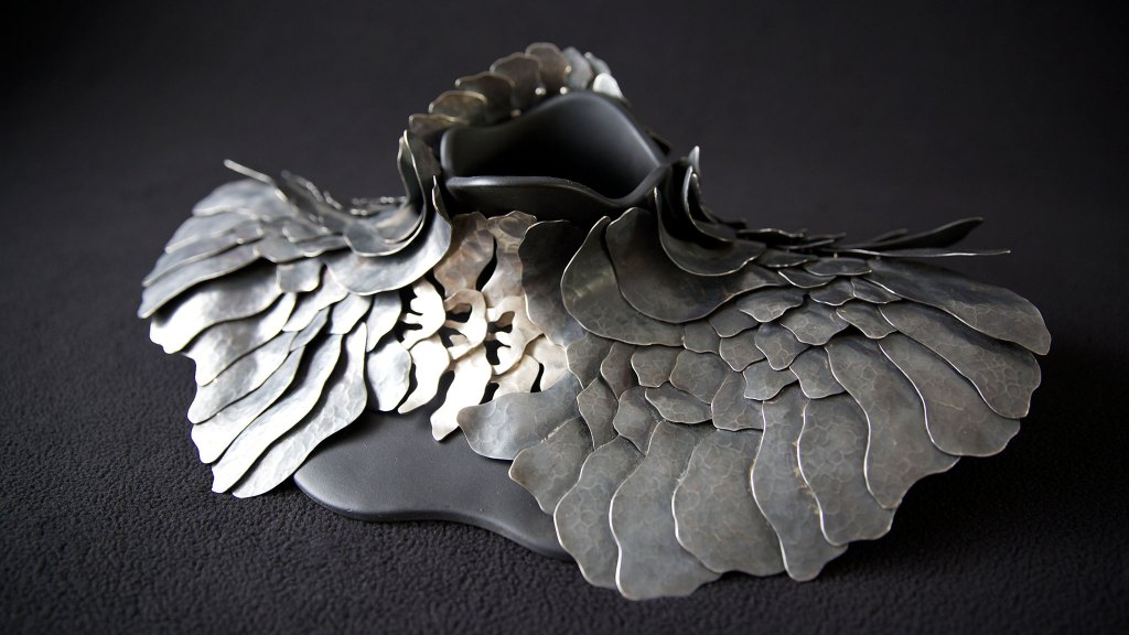 Eduardo Herrera Harfuch, Wings for a Turtle. Denise Kang photo. Craft in America NEIGHBORS. Taxco Mexico