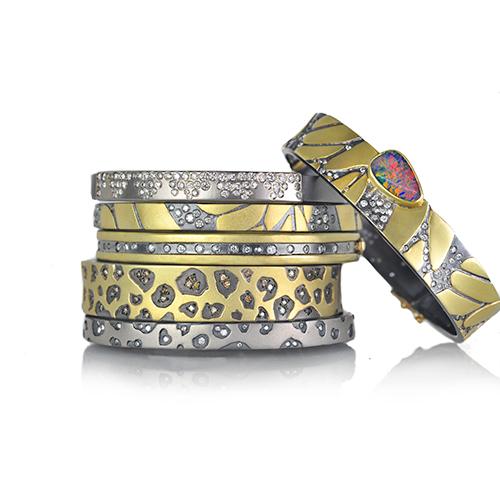 Rebecca Myers Design - Animal Print Bracelets, Craft in America