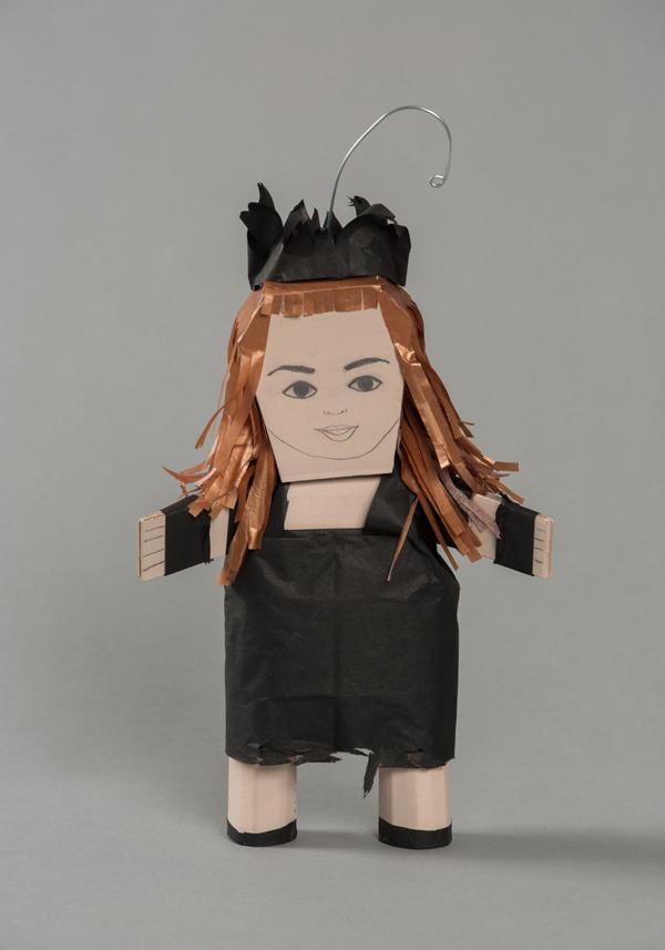Ana Serrano, Piñatitas, María del Barrio, 2012, Craft in America, Piñatas