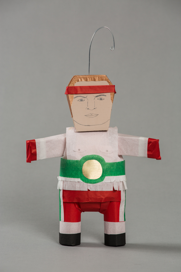 Ana Serrano, Piñatitas Julio César Chávez, 2012, Craft in America, Piñatas