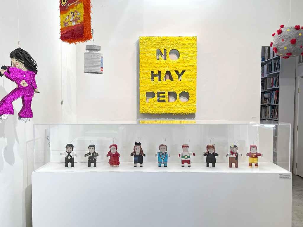 Ana Serrano, Installation Image, 2021. Photo: Madison Metro, Craft in America, Piñatas