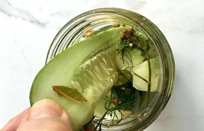 The Best Easy Homemade Refrigerator Dill Pickle Recipe