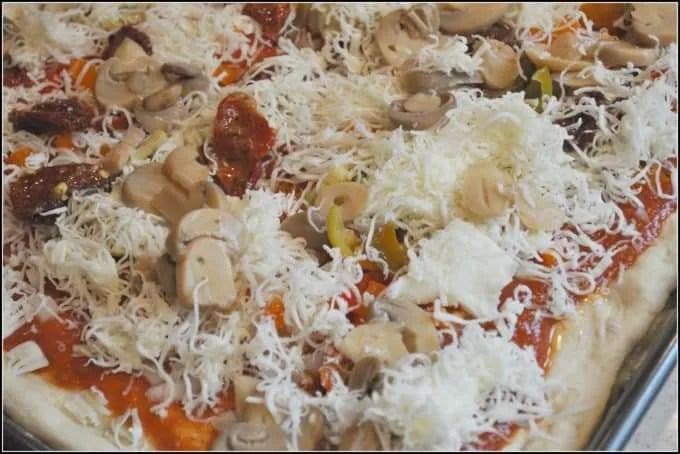 Homemade Bread Machine Pizza Dough7
