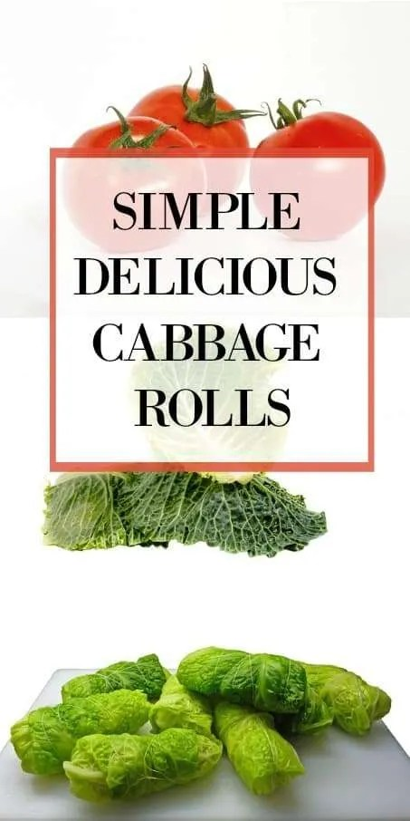 Simple Delicious Cabbage Rolls
