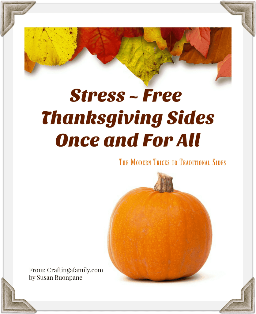 PDF E-Cookbook Thanksgiving Side Dishes made simple and easy with these tips
