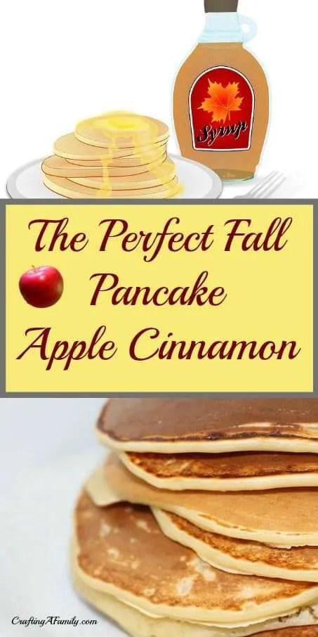 Harvest Fall Pancakes Apple & Cinnamon