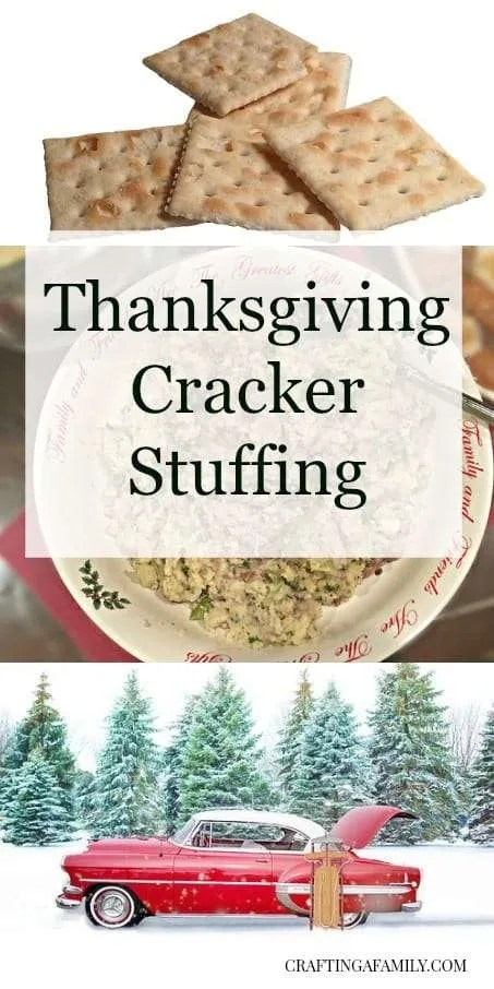Thanksgiving Cracker Stuffing
