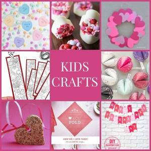 8 Valentine Crafts for Kids