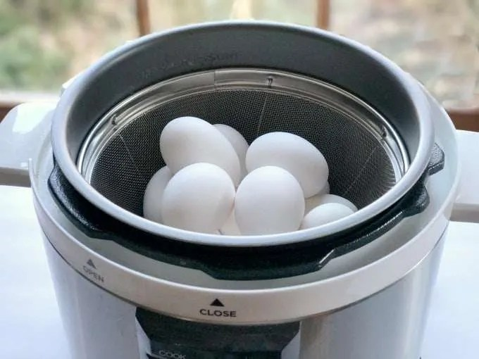 Electric Pressure Cooker Hard Boiled Eggs, I first remember deviled eggs as a classic appetizer that my mother would make for parties. This traditions soon became a must have on the Easter dinner table.