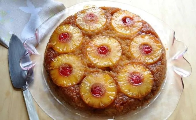 Easter Menu Pineapple Upside Down Cake Recipe