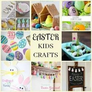 8 Super Simple Easter Crafts For Kids Crafting A Family