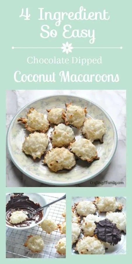Easy Coconut Macaroon Cookie Recipe