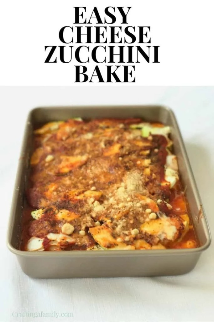 Cheese Zucchini Bake Casserole Recipe