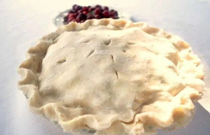 Cherry Pie Recipe. Here is an easy & delicious cherry pie recipe made from fresh picked cherries from a local farm. You can make this for a fresh summer pie or with fresh or frozen cherries for a colorful tasty Thanksgiving or Christmas pie. Your family and friends will love the bright red color of the juicy cherries, and the twist on the traditional pies for the holidays.