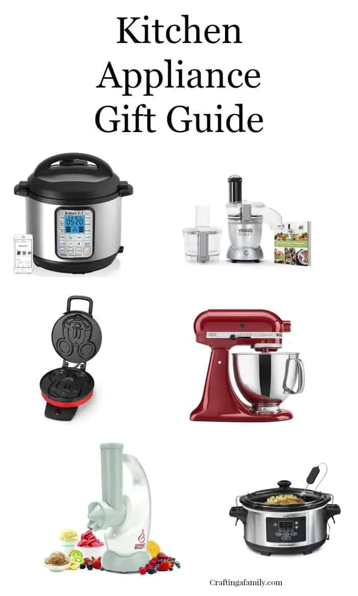 Kitchen Appliance Gift Guide ~ Crafting a Family on kitchen appliances equipment toools, kitchen stoves and ovens, kitchen designs with black appliances,
