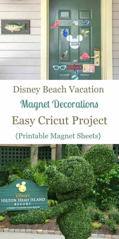 Disney Hotel Room Door Decorations Cricut Project Garden Green Mickey Sculpture With Hilton Head Island Sign