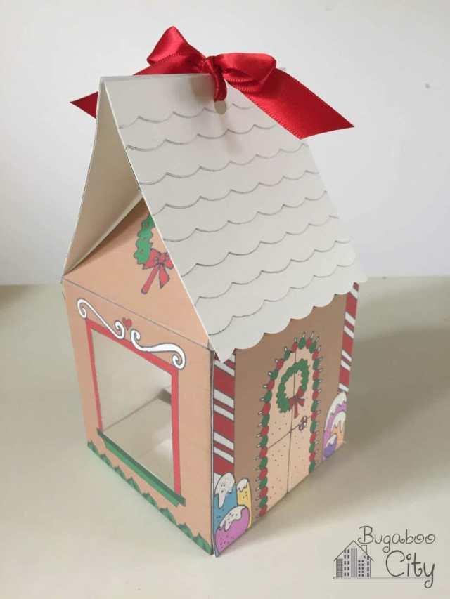 Gingerbread House Treat Box