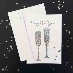 DIY Happy New Years Cards