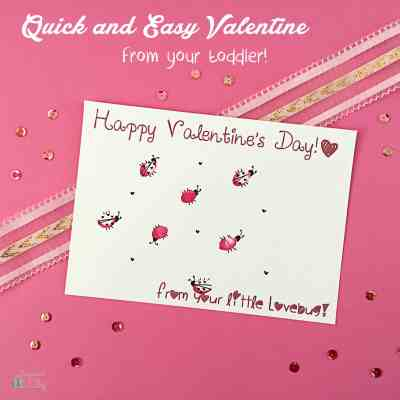 DIY Valentine's Day Card – Kid Craft