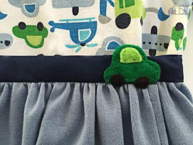 DIY Onesie Wrap Skirt