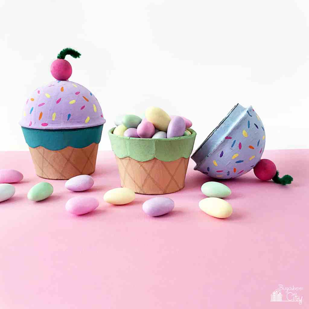BugabooCity Ice Cream Cone Treat Box