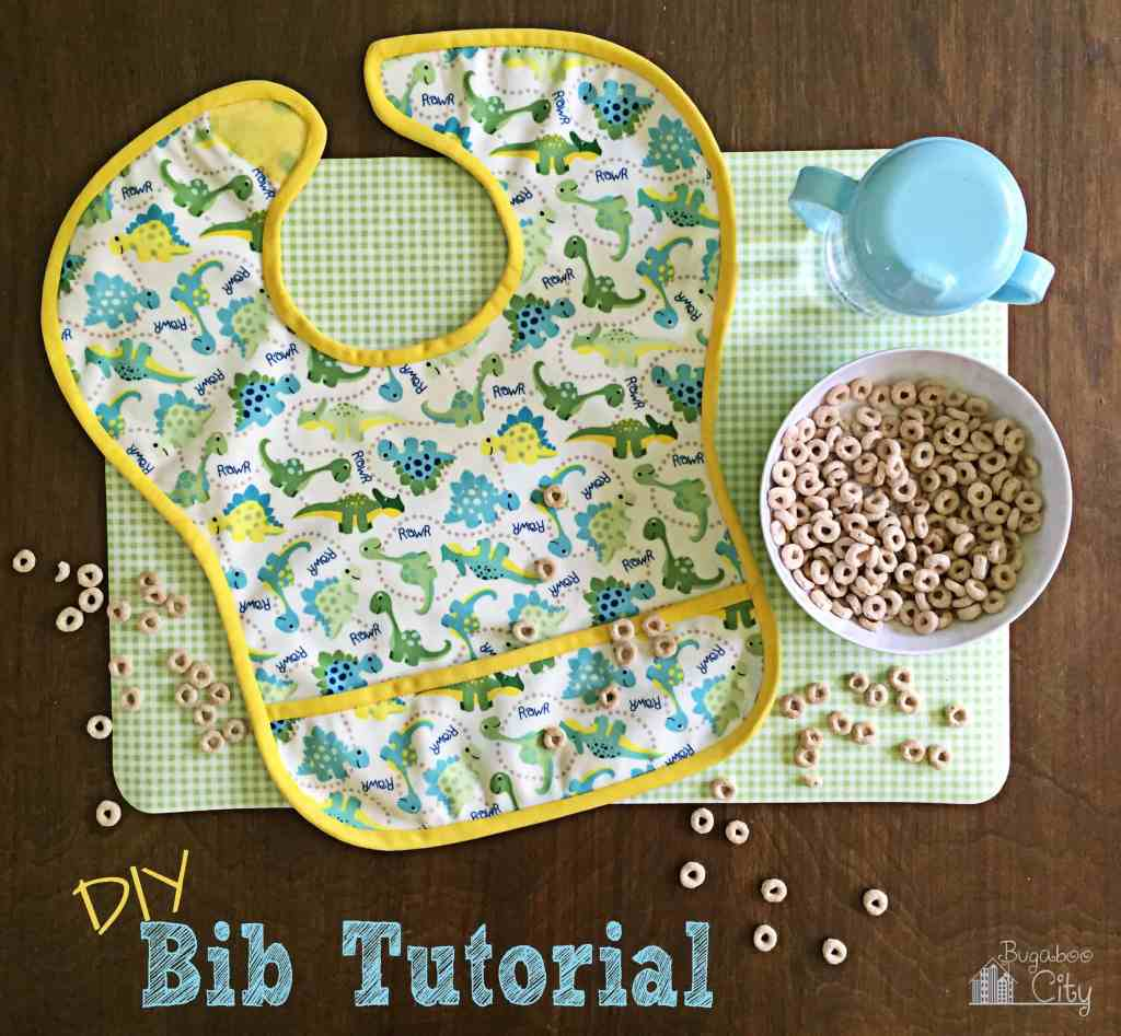 DIY Waterproof Bib Tutorial